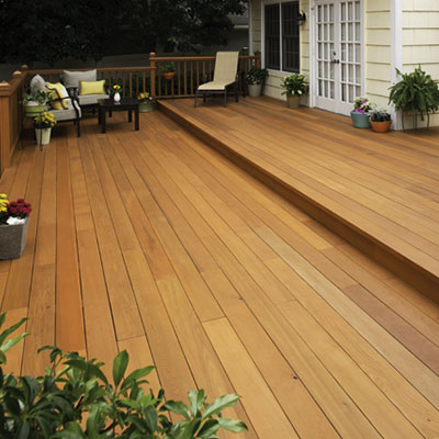 We Provide Wood Deck Refinishing And Resurfacing Services